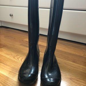 Coach Size 7 rain boots